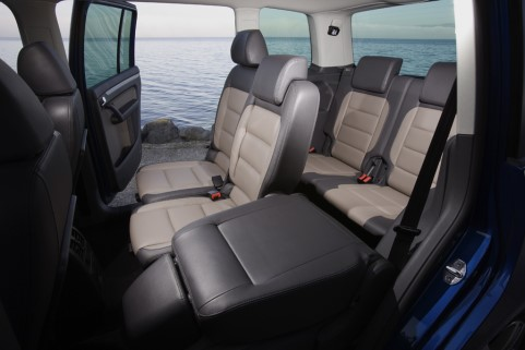 Volkswagen vw for Touran interieur 7 places